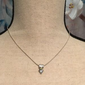 Jewelry - Sterling Silver 925 Necklace with Pendant
